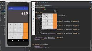58- Android Calculator ||عمل تطبيق الحاسبة screenshot 1