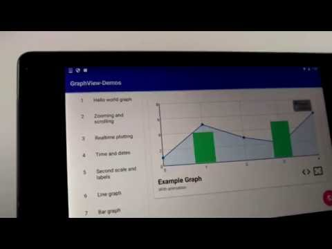 Realtime plotting with zooming | Android GraphView 4.2 | opensource library