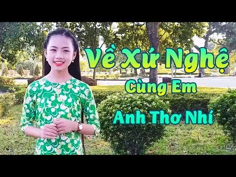 Bé gái 13 tuổi hát như ca sĩ chuyên nghiệp│Về Xứ Nghệ Cùng Em - Bé Bảo Anh