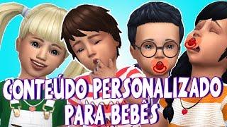 Conteúdo Personalizado para Bebês   PARTE 2   The Sims 4   CC