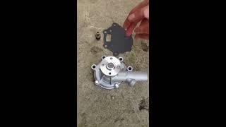 водяная помпа, насос для тракторов и экскаваторов Mitsubishi