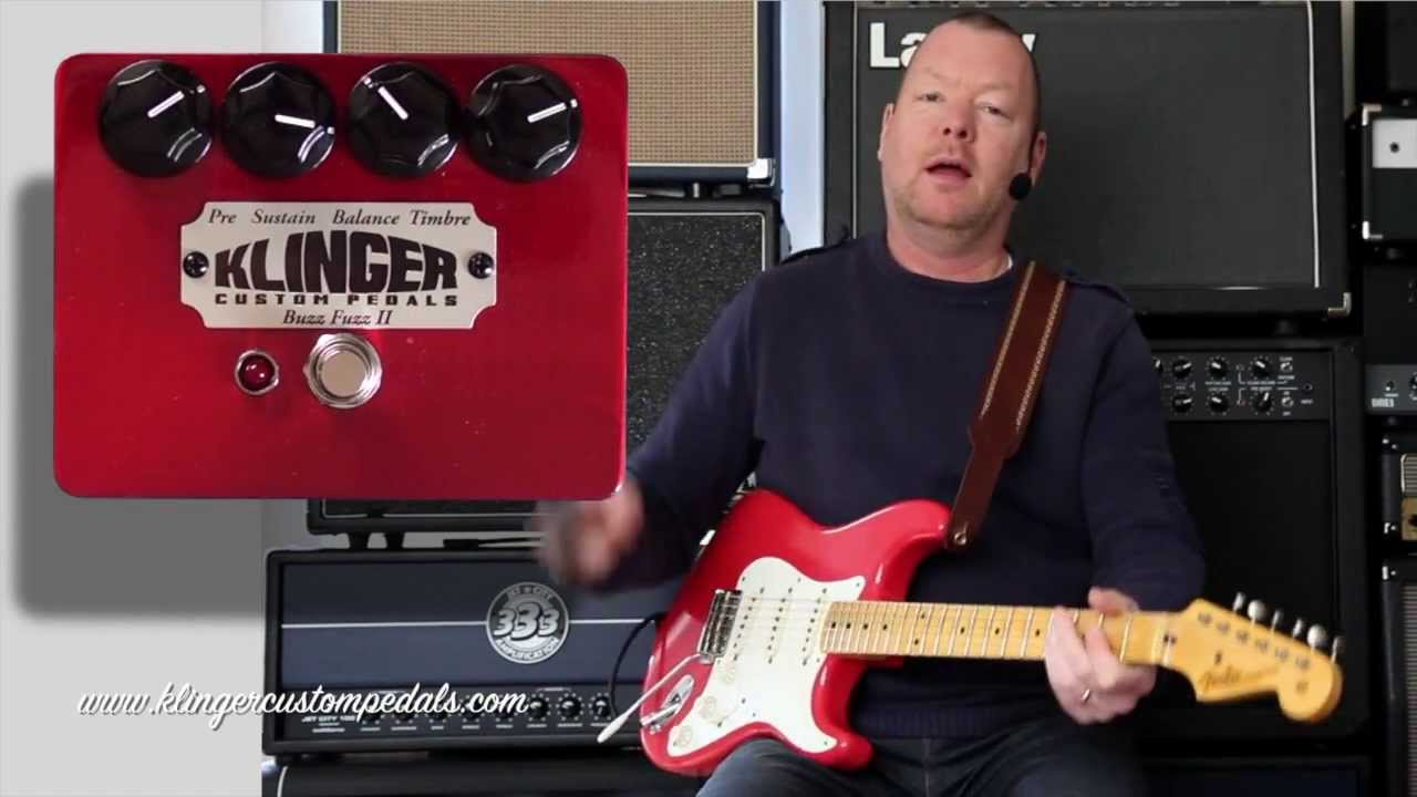 Klinger Custom Pedals Buzzfuzz Ii Youtube Vintage Magnatone Amplifier Schematic
