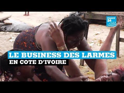 Le business des larmes en Côte D'Ivoire