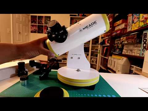 Meade - Eclispeview™ 82mm Reflecting Telescope - Unboxing