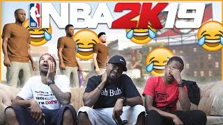 Meet The World's Worst Park Players... (NBA 2K19 Funny Moments)