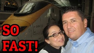 Train from London to Paris | Chunnel Experience