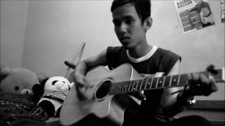 Tajul - Sedalam dalam rindu (akustik terbaik cover by ashral)