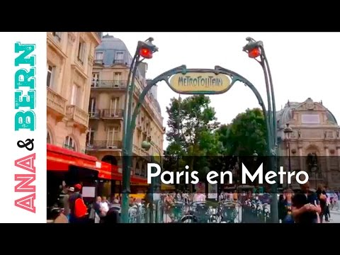 METRO de PARIS, Francia / Ana y Bern
