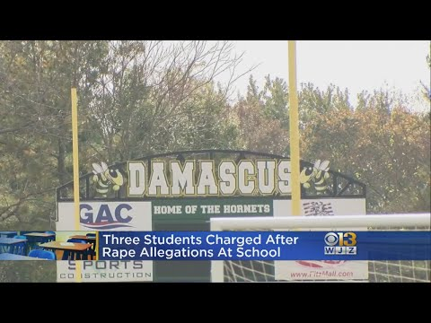 Students Charged With Rape As Police Investigate Hazing Allegations At Damascus High School