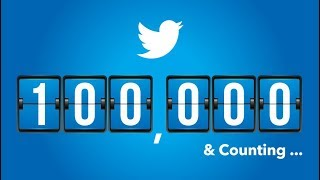 HOW TO GET 100,000 FOLLOWERS ON TWITTER  FREE 2017