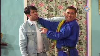 Tariq Teddy and Nasir Chinyoti New Pakistani Stage Drama Full Comedy Clip