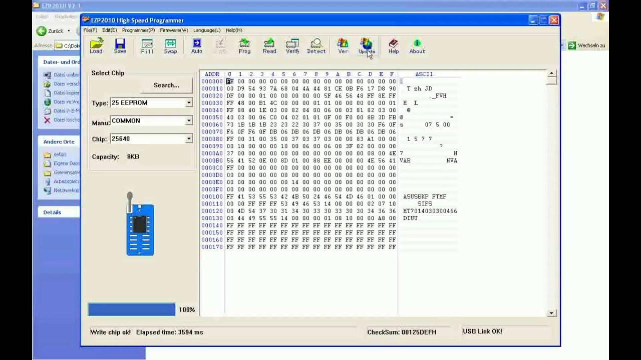 Ezp2010 драйвер Windows 7
