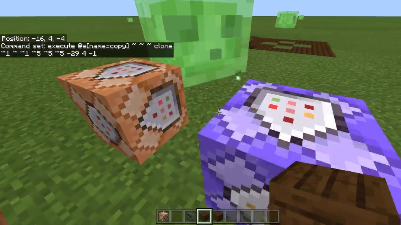 How To Make Copy And Paste With Command Blocks In Minecraft Bedrock Edition  Pe