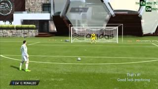 Pes 2015 Skills - FIFA 15 Rabona Free Kick Tutorial