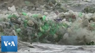 Rivers of Trash Plastic Waste Flows Down South Africas River