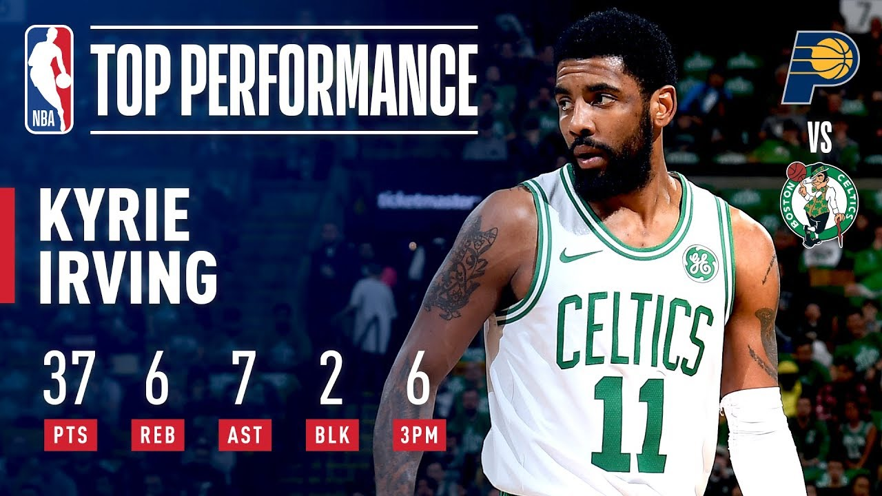 bd75498b5e05 Kyrie Irving ELECTRIFIES The Boston Crowd in Game 2
