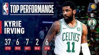 Kyrie Irving ELECTRIFIES The Boston Crowd in Game 2 | April 17, 2019