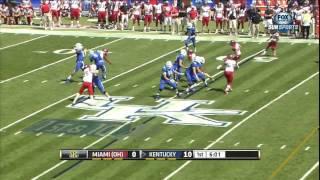 09/07/2013 Miami OH vs Kentucky Football Highlights