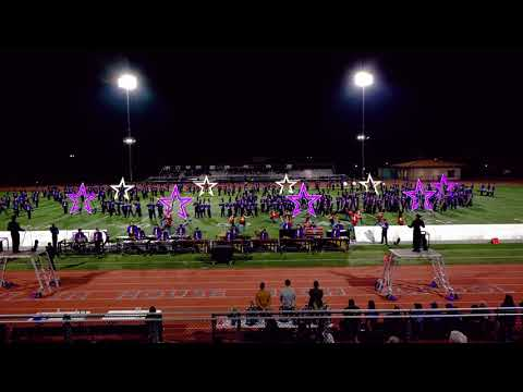 Amador Valley High School Marching Band and Color Guard Wonder Woman Field Show Competition