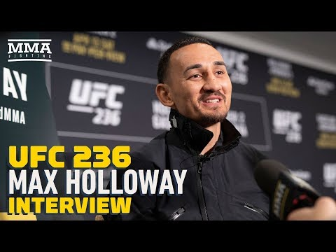 Max Holloway says new UFC belts look like something out of Power Rangers