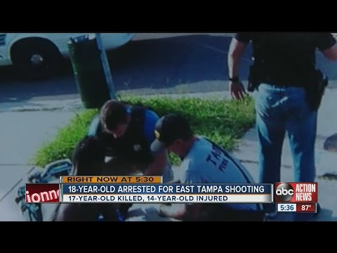 18-year-old arrested in East Tampa shooting