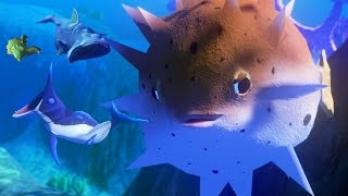 NEW PUFFER FISH! 20,000 DAMAGE!!! - Feed and Grow Fish - Part 36   Pungence