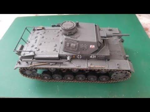 "Сборка модели Звезда 3549 - Самоходка Штурмгешутц III (StuG III Ausf.F) - шаг 3. Небольшой ""апгрейд"", фильтр и декали"