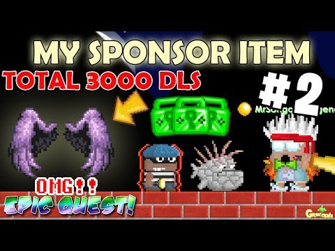 MY NEW SPONSOR(EPIC QUEST) ITEM 2!! [WHEN??] OMG!! | GrowTopia