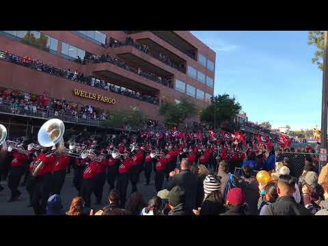 UGA REDCOAT BAND 2018 ROSE BOWL PARADE