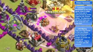 "Clash of Clans -- Hero and the Goat -- JTJ vs ""Kingdom DOA"" (09/20 CW)"