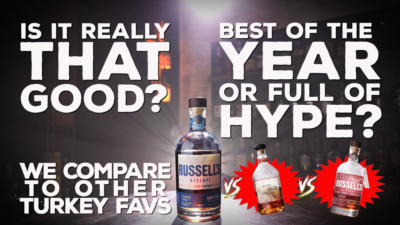 Russell's Reserve 13 Year Barrel Proof Bourbon Whiskey Reviewed & Revisited
