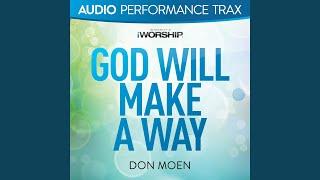 God Will Make a Way [Original Key With Background Vocals]
