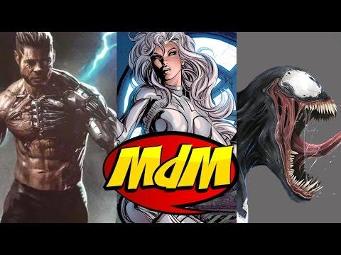 Cable Brad Pitt, Silver Sable, Gata Negra e Venom nos cinemas!