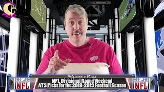 NFL Divisional Round Weekend ATS Picks for the 2018-2019 Football Season