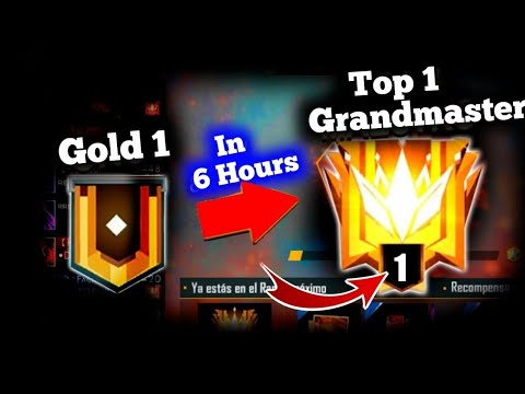 HOW TO REACH GRANDMASTER IN 10 HOURS    FREE FIRE    DEADLINE GAMING
