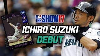 94 ICHIRO SUZUKI DEBUT! AL West Collection Reward!   MLB The Show 17 Diamond Dynasty Ranked Seasons