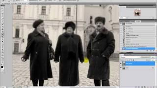 Урок фотошопа - Эффект старинной фотографии(В данном видео уроке Вы научитесь превращать обычные фото в старинные. Рекомендуется смотреть в HD. ..., 2011-04-11T15:01:29.000Z)