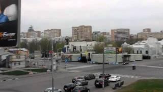 На перекрёстке Олимпийского проспекта и улицы Дурова