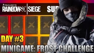 Rainbow Six Siege | FROST CHALLENGE! (Sub Week Day #3)