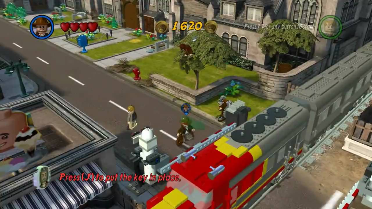 Lego Indiana Jones 2 Gameplay Pchd Youtube