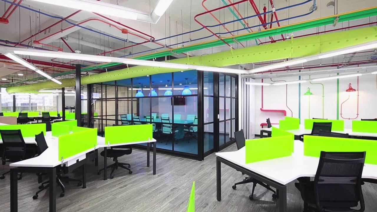 Proyecto de dise o y construcci n oficinas de globant en for Arquitectura de oficinas