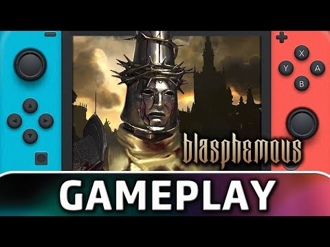 Blasphemous   First 15 Minutes On Switch