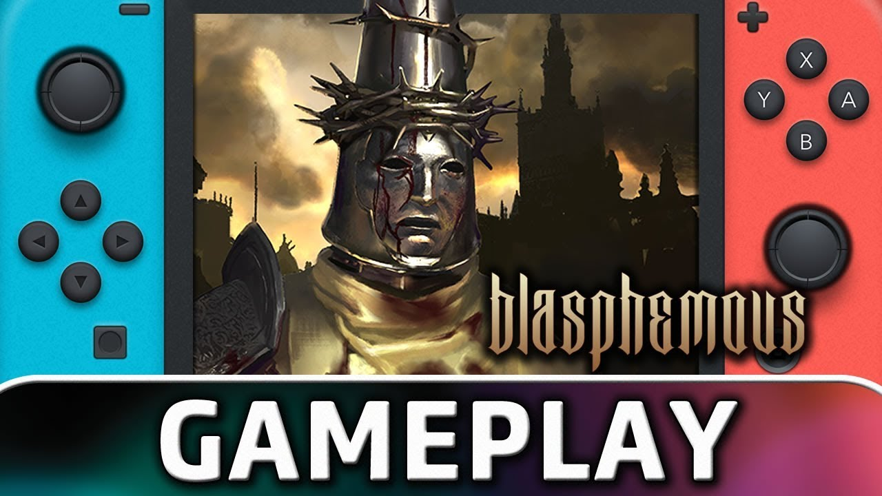 Blasphemous | First 15 Minutes on Nintendo Switch