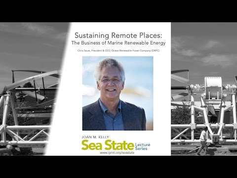 Sustaining Remote Places: The Business of Marine Renewable E