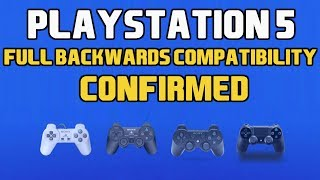 PS5 | THE PLAYSTATION 5 IS FULLY BACKWARDS COMPATIBLE | PS5 NEWS