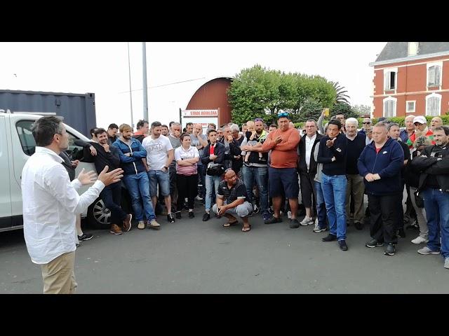 Biarritz Olympique : le président s'explique avec les supporters