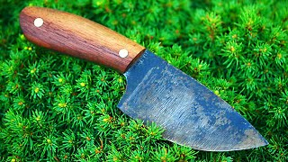 How to make a knife with basic tools