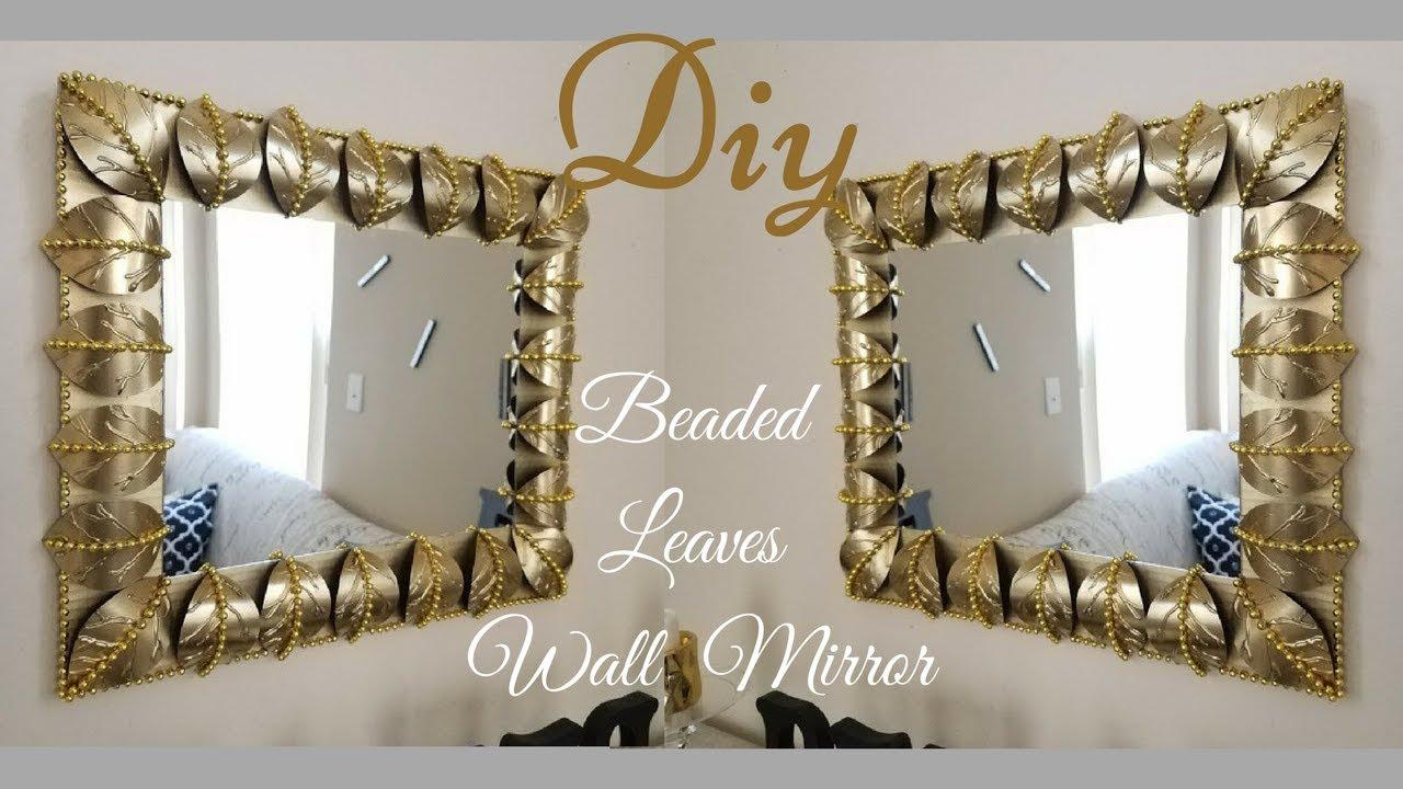 Diy Metallic Gold Wall Decor