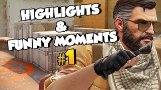 CS:GO Highlights & Funny Moments #1 w/Pro-Digies