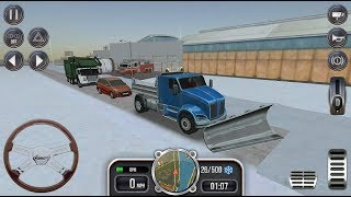 Construction Sim 2017 - New Snow Plow Truck Unlocked | Truck Simulator Games - Android GamePlay FHD